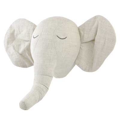 Just Born Keepsake Plush Elephant Head