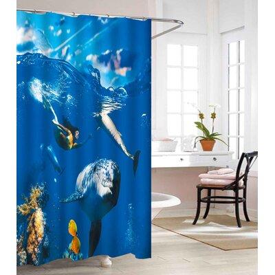 Waterproof Vinyl Shower Curtain