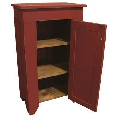 Bares Accent Cabinet Color: Old Red