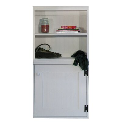 Modular Cabinet with Door Accent Cabinet Color: Black