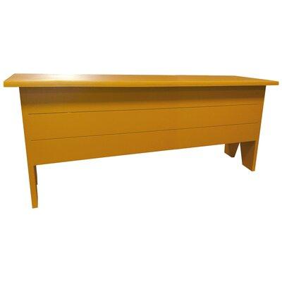 Storage Bench Color: Gold