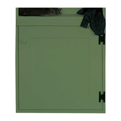 Modular Cabinet with Door Accent Cabinet Color: Sage