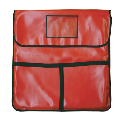 "Holds Pizza Delivery Bag Size: 6"" H x 24"" W x 24"" D"