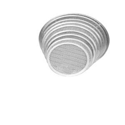 "Seamless Pizza Pan Size: 0.2"" H x 22"" W x 22"" D"