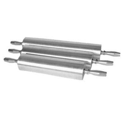 """Aluminum Rolling Pin Size: 13"""" L x 3.5"""" W"""