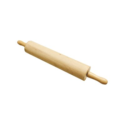"Wooden Rolling Pin Size: 13"" L x 3"" W"