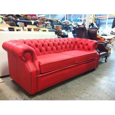 UK Icon Design Hariss Genuine Leather 2 Seater Sofa