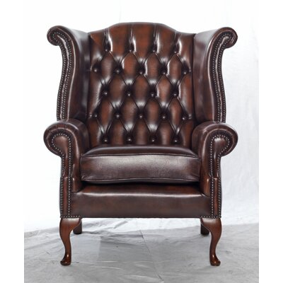 UK Icon Design Scroll Wing Armchair