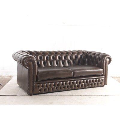UK Icon Design Roman Genuine Leather 3 Seater Sofa