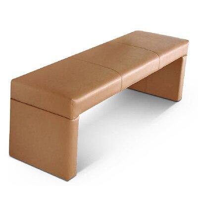 SAM Stil Art Möbel GmbH Gepolsterte Küchenbank Mason aus recyceltem Leder