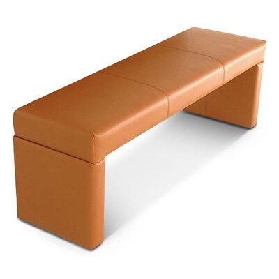 SAM Stil Art Möbel GmbH Gepolsterte Küchenbank Aruba aus recyceltem Leder