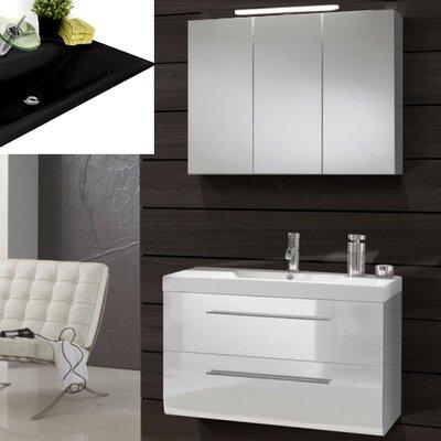 SAM Stil Art Möbel GmbH 2-tlg.Badezimmer-Set Zypern