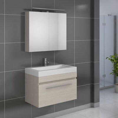 SAM Stil Art Möbel GmbH 2-tlg. Badezimmer-Set Lanzarote