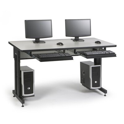 "ACTT Height Adjustable Training Table Tabletop Finish: Folkstone, Size: 28-35"" H x 60"" W x 24"" D"