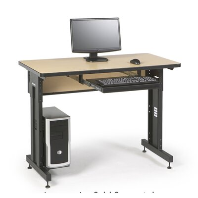 "ACTT Height Adjustable Training Table Tabletop Finish: Hard Rock Maple, Size: 28-35"" H x 48"" W x 24"" D"