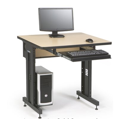 "ACTT Height Adjustable Training Table Tabletop Finish: Hard Rock Maple, Size: 28-35"" H x 36"" W x 30"" D"