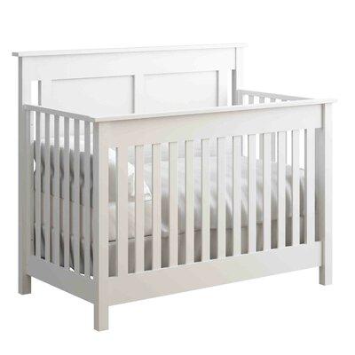 Hampton 2-in-1 Convertible Crib Color: White