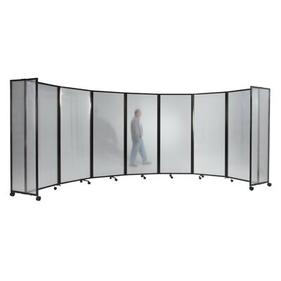 360 Room Divider Color: Gray