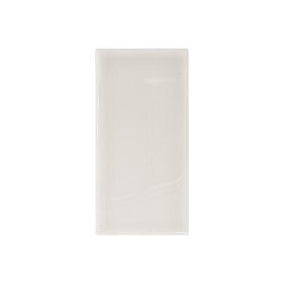 """Misty Harbor 6"""" x 3"""" Heron Ceramic Tile in Heron Gray"""