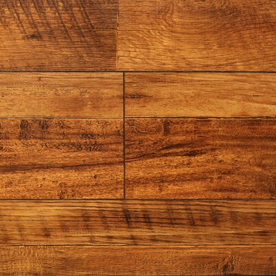 "8"" x 48"" x 12.3mm Laminate Flooring in Vintage Wheat (Set of 22)"