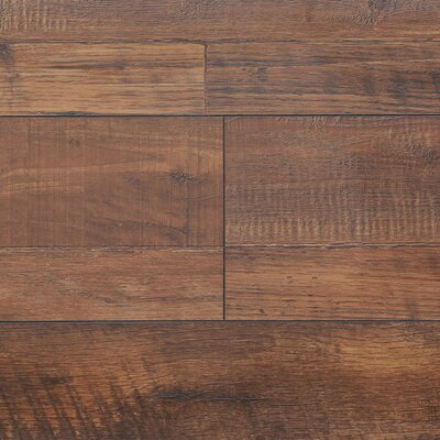 "8"" x 48"" x 12.3mm Laminate Flooring in Vintage Copper (Set of 22)"