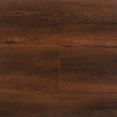 "8"" x 48"" x 12.3mm Laminate Flooring in Havana (Set of 22)"