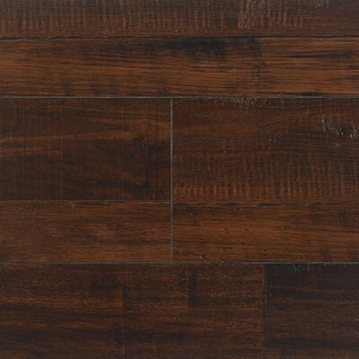 "8"" x 48"" x 12.3mm Laminate Flooring in Vintage Pewter (Set of 22)"