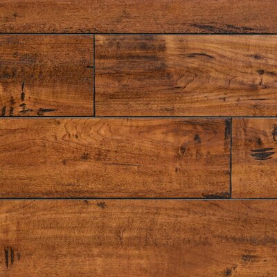 "5"" x 48"" x 12.3mm Laminate Flooring in Walnut Harrington"