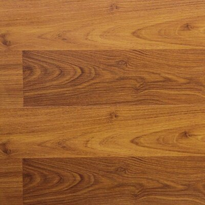 "8"" x 48"" x 8.2mm Laminate Flooring in Terracotta Alder (Set of 22)"