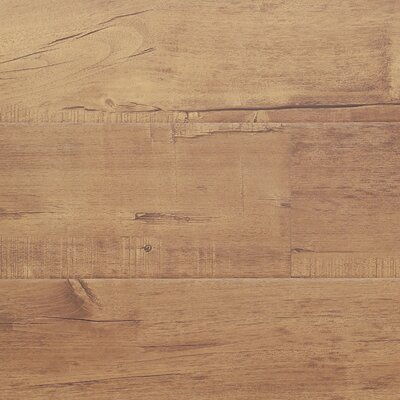 "7"" x 48"" x 12.3mm Laminate Flooring in Chestnut (Set of 22)"