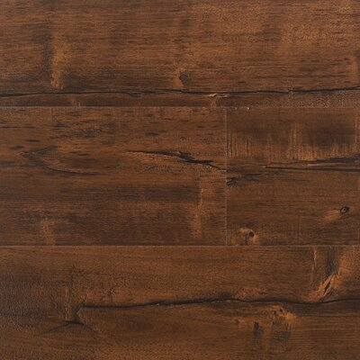 "7"" x 48"" x 12.3mm Laminate Flooring in Java (Set of 22)"