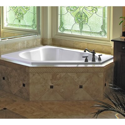 "Eureka II 60"" x 60"" Soaking Bathtub"