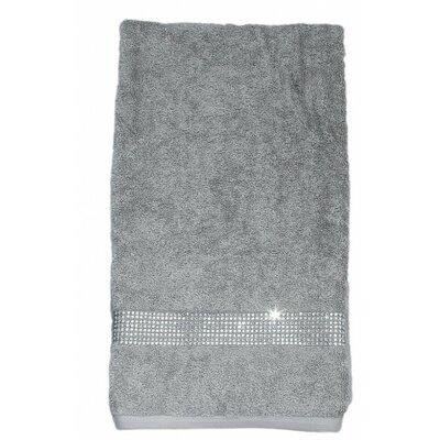 Rhinestone Egyptian-Quality Cotton Bath Towel Color: Red