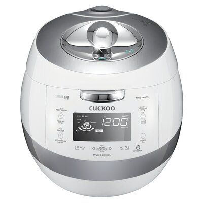 10-Cup Stainless IH Pressure Cooker