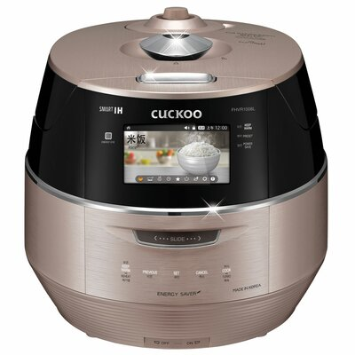 Cuckoo 10 Cup LCD Display IH Electric Pressure Rice Cooker Size: 6 Cup