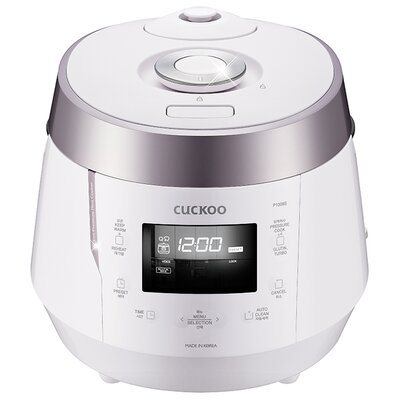 10-Cup Electric Heating Pressure Rice Cooker Color: White
