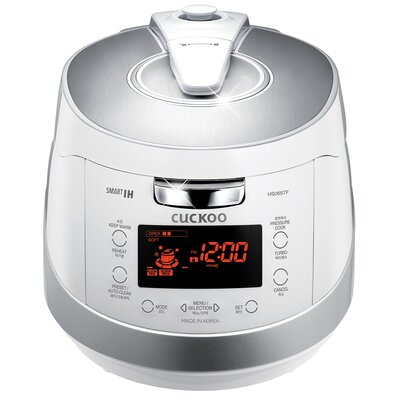 6-Cup Induction Heating Pressure Rice Cooker