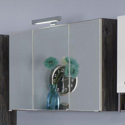 Held Möbel Capri 64 x 80cm Mirror Cabinet
