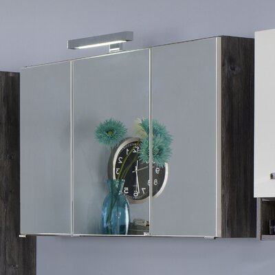 Held Möbel Capri 64 x 100cm Mirror Cabinet