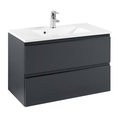 Held Möbel Cardiff 80cm Single Bathroom Vanity Set