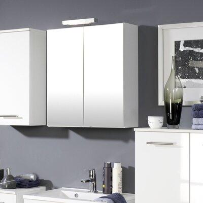 Held Möbel Blanco 69 x 60cm Mirror Cabinet