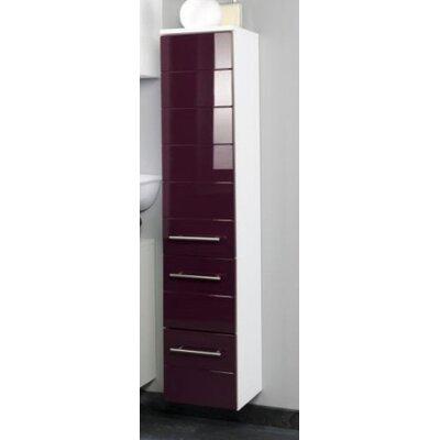 Held Möbel Rimini 25 x 130cm Wall Mounted Tall Bathroom Cabinet