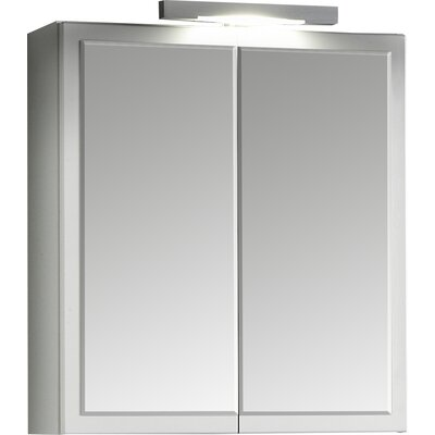 Held Möbel Phoenix 69 x 60cm Mirror Cabinet
