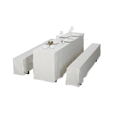 Best Freizeitmöbel 3 Piece Table Cover Set