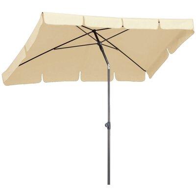 Best Freizeitmöbel 2.7m x 1.5m La Gomera Draping Parasol