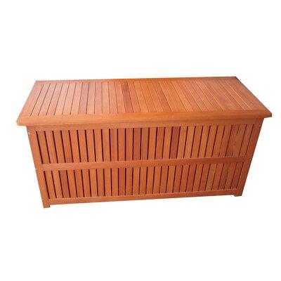 Garden Pleasure Plano Outdoor Cushion Storage Bin with Interior Foil Pocket