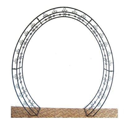 Garden Pleasure Oval Metal Rose Arch