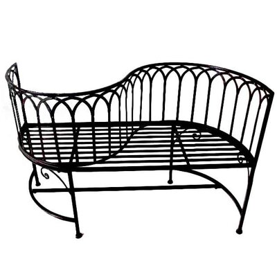 Garden Pleasure Relax 2-Seater Steel Garden Bench