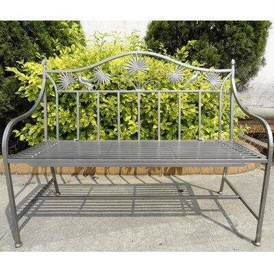 Garden Pleasure 2-Seater Iron Garden Bench