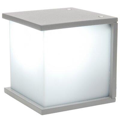 Eco Light Box Cube 1 Light Outdoor Flush Mount